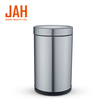 JAH Large Capacity 430 Stainless Steel Wastepaper Basket