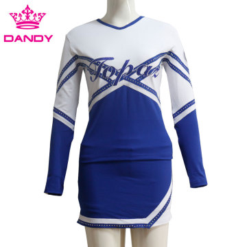 Hakano Royal Blue Varsity Cheerleading Uniana