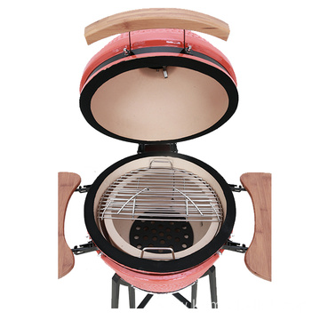 21 Inch Outdoor BBQ Grill Wood-Burning Stove