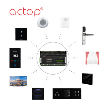 smart hotel guest room control host for hotel apartment