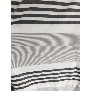 Polyester cationic wash cotton dyed fabric