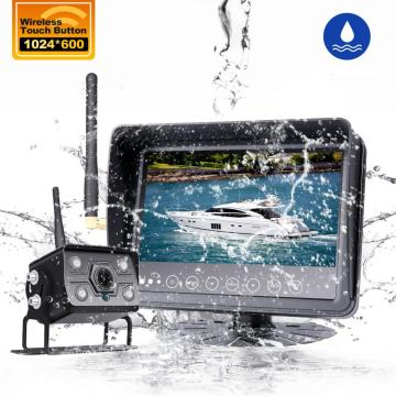 Wireless Parking Camera Waterproof Monitor Night Vision