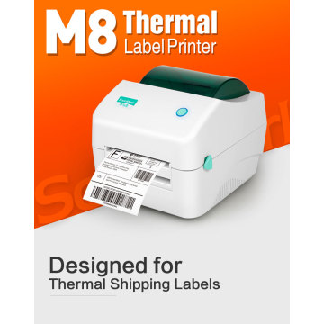 USB interface shipping label direct thermal printer