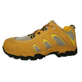 Low Ankle  Leather MD Sole Safety Shoes