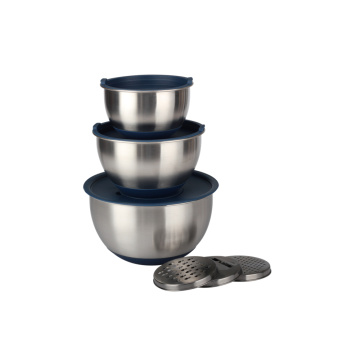 Kitchen Accessories Stainless Steel Mixing Bowl Set