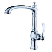 Quality new brass single-hole kitchen sink faucet