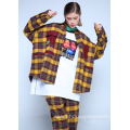 OVERSIZED FLANNEL CHECKED OVERSHIRT