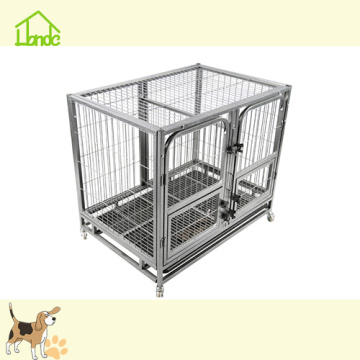Popular low price square tube welded mesh dog cage
