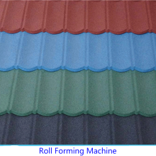 Colorful Stone Coated Production Line