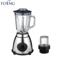 Powerful food blender with glass jug