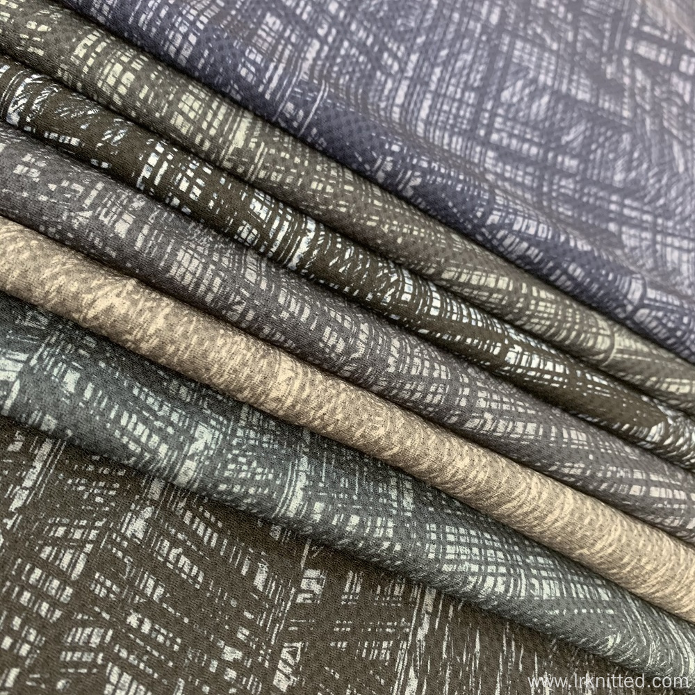 Polyester Warp Knitted Printed