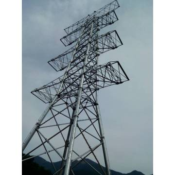 100M Transmission Line Steel Tubular Tower