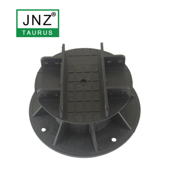 adjustable plastic pedestal support for balcony