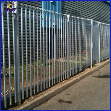 Hot Dipped Galvanized Anti Climb Palisade Fences