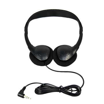 Headphone wired 3.5mm 2x aux wired headphones headset