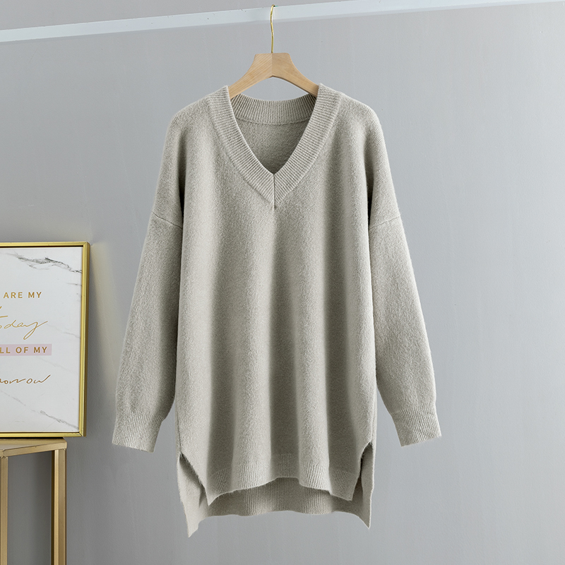 White Long Sleeve Knit Top