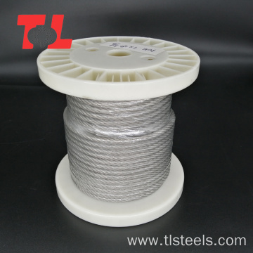 304 316 Stainless Steel Wire Rope