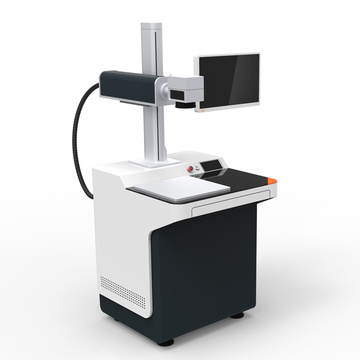 Fiber laser marking machine in stock