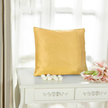 Silk Zipper Pillowscase For Bed Couches Sofas Decorative