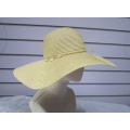 Paper Sun Floppy Golden Fishstar Trimmed Hats