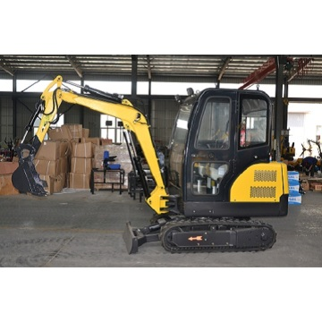 Affordable powerful mini excavator