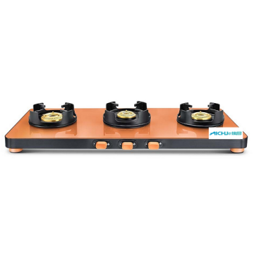 Pastel Ultra Slim Edge Glass Gas Cooktop