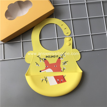 Wholesale Waterproof Wearable Soft Silicone baby bibs