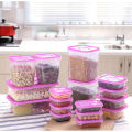 High-end Thick Plastic Food Storage box portable Containers Saver Container