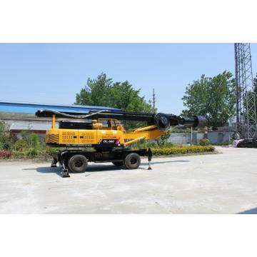 Wheeled Core Drilling Rig Machinery for Sale