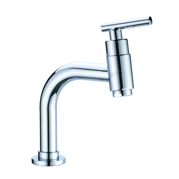Single cold tap set for bathroom bar short