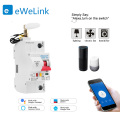 1P WiFi Smart Circuit Breaker overload short circuit protection with Alexa for Smart Home