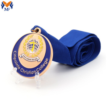 Sports college race medals custom