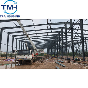 steel structure mechanical workshop metal frame steel