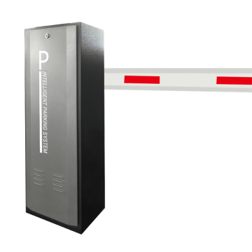 Stainless Steel Rfid Parking Boom Barrier Gate