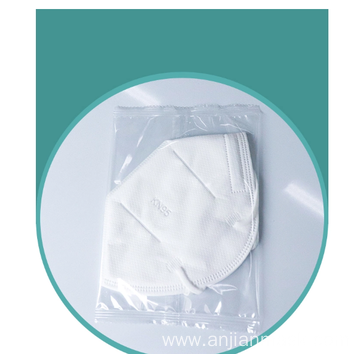 Disposable dust mask in individual package