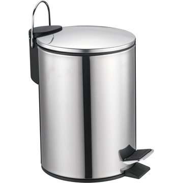 Simplehuman Trash Bin with Stainless Steel