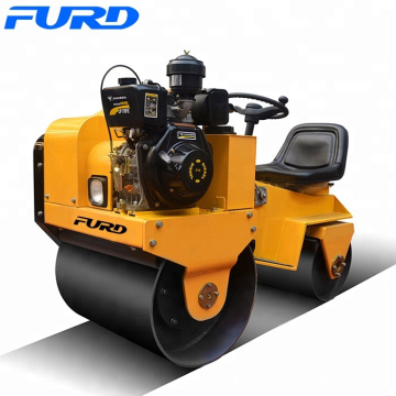 FURD Manufactured 800kg Small Steel Wheel Vibratory Roller (FYL-850)