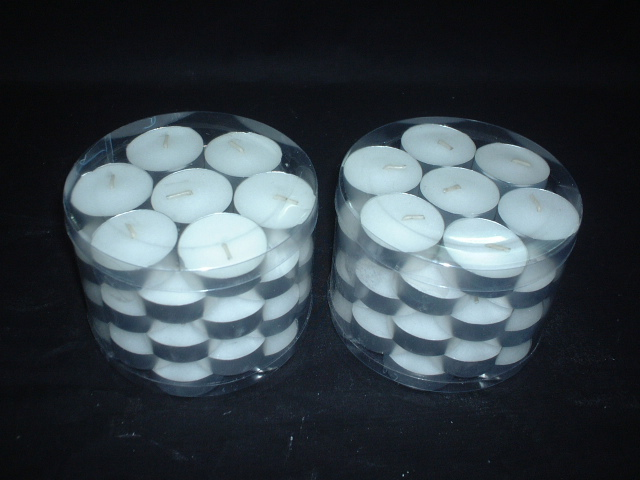 White Tealight Candle1