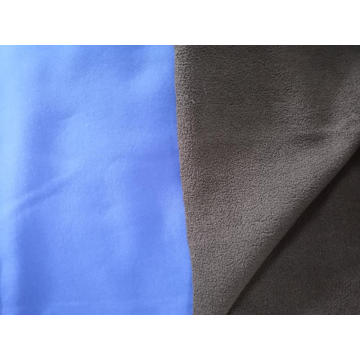 100% Polyester Softshell Bonded Polar Fleece