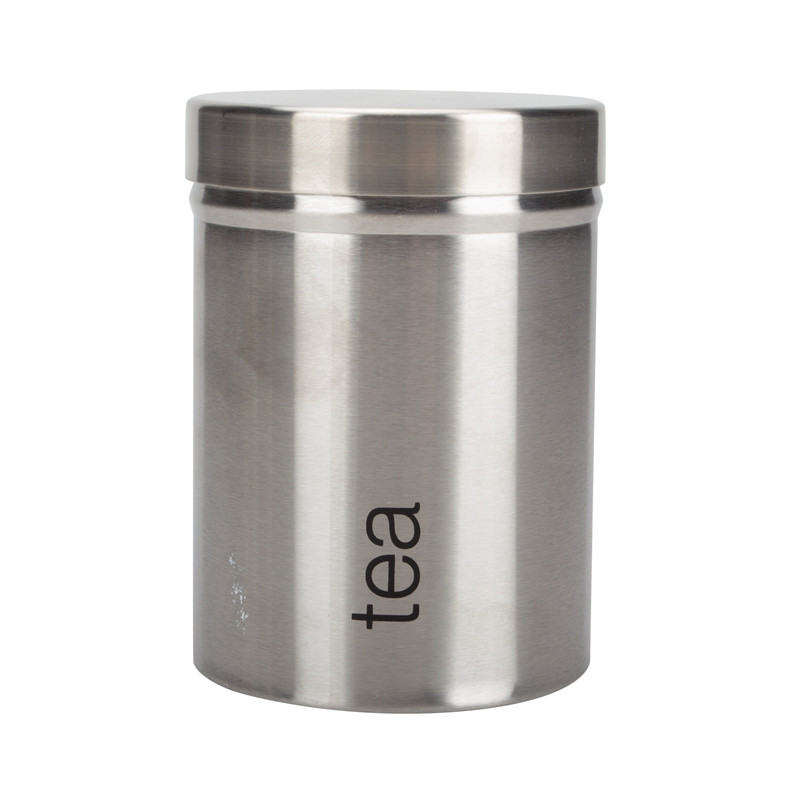 Stainless Steel Tea Canister