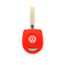 VW 1 button fob ya paceya çelê ya silicon ve