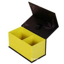 Magnetic Empty Gift Tea Packaging Paper Boxes