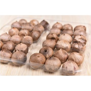 Odorless whole bulb black garlic