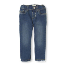 Childrens Cotton Skinny Jeans for Baby Kids