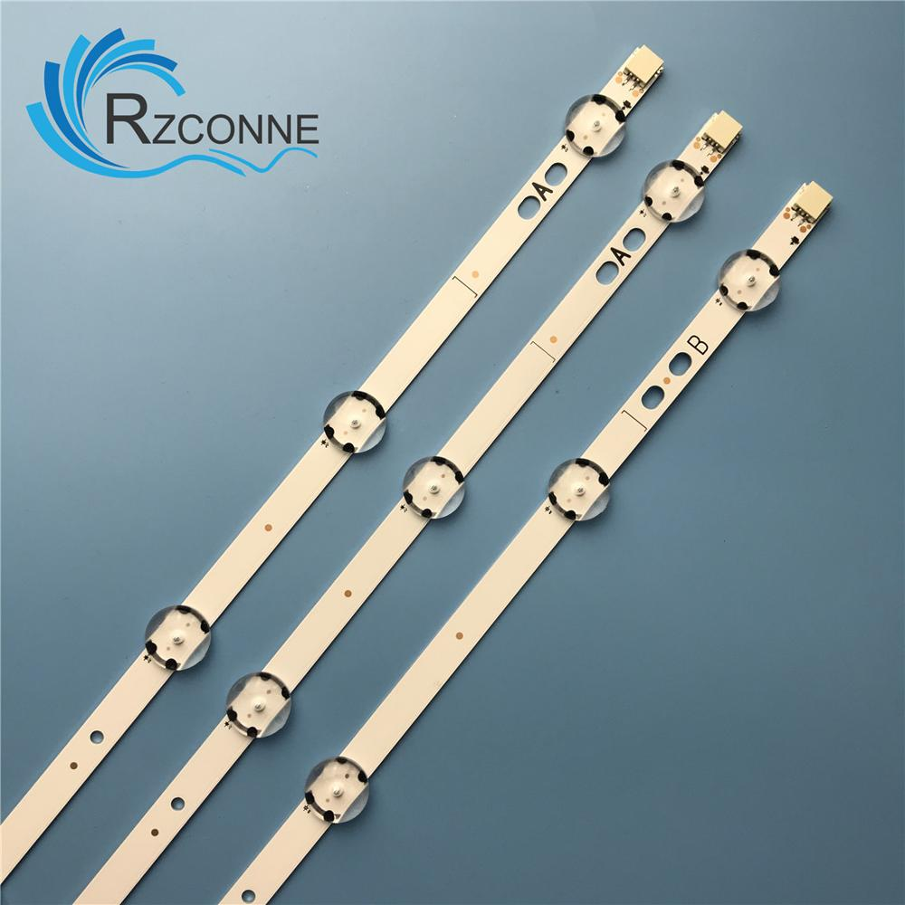 """LED backlight strip 9 lamp For VESTEL 40"""" UHD DRT VNB A-TYPE B REV02 VES400QNDS-2D-U11 N11 LT-40C860 40C880 17DB40H C40U446A"""