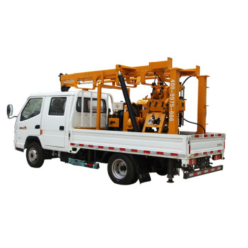 600m Rotary Water Well Drilling Rig Truck