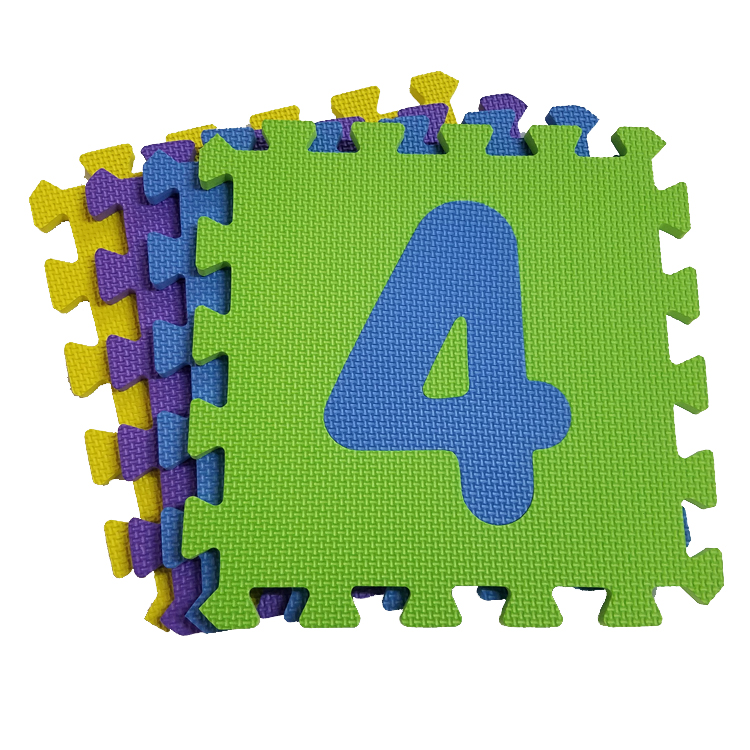 Numbers Puzzle Mat