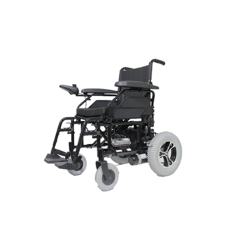 Dynamoelectric wheelchair accessible shower
