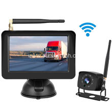 Digital Wireless Backup Camera nga adunay Monitor 5inch