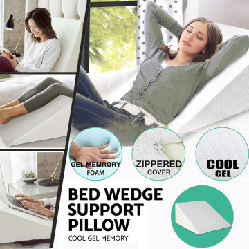 Comfity Memory Foam Bed Wedge Pillow